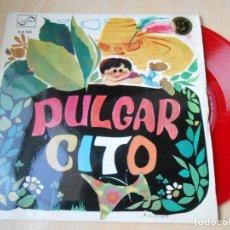 Discos de vinilo: CUENTO - TEATRO INVISIBLE DE RADIO NACIONAL ESPAÑA, DE BARCELONA, EP, PULGARCITO + 1, AÑO 1967. Lote 186153207