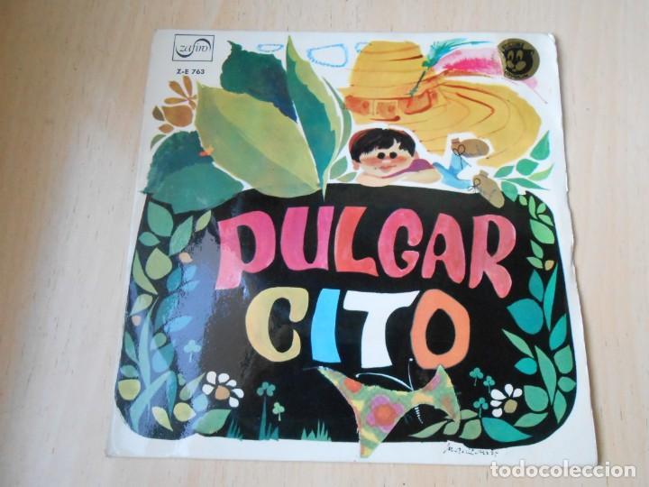 Discos de vinilo: CUENTO - TEATRO INVISIBLE DE RADIO NACIONAL ESPAÑA, DE BARCELONA, EP, PULGARCITO + 1, AÑO 1967 - Foto 2 - 186153207
