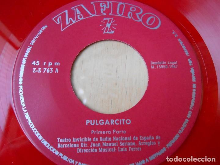 Discos de vinilo: CUENTO - TEATRO INVISIBLE DE RADIO NACIONAL ESPAÑA, DE BARCELONA, EP, PULGARCITO + 1, AÑO 1967 - Foto 4 - 186153207
