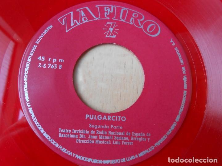 Discos de vinilo: CUENTO - TEATRO INVISIBLE DE RADIO NACIONAL ESPAÑA, DE BARCELONA, EP, PULGARCITO + 1, AÑO 1967 - Foto 5 - 186153207