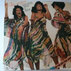 Discos de vinilo: THE THREE DEGREES- STANDING UP FOR LOVE (DISPUESTA PARA EL AMOR)- SPAIN LP 1977-VINILO COMO NUEVO.. Lote 186154036