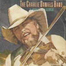 Discos de vinilo: THE CHARLIE DANIELS BAND EL DIABLO BAJO A GEORGIA. Lote 186155151