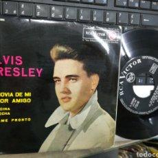 Discos de vinilo: ELVIS PRESLEY EP LA NOVIA DE MI MEJOR AMIGO + 3 ESPAÑA 1963. Lote 186156123