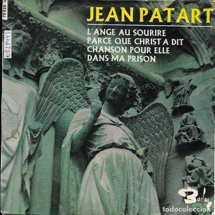 JEAN PATART L'ANGE AU SOURIRE BARCLAYS 1966 (Música - Discos de Vinilo - EPs - Otros estilos)