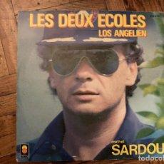 Discos de vinilo: MICHEL SARDOU – LES DEUX ECOLES SELLO: TREMA – 410 274, TREMA – 410.274 FORMATO: VINYL, 7 . Lote 186162520