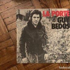 Discos de vinilo: GUY BEDOS – LE TUBE DE L'HIVER SELLO: BARCLAY – 62172 FORMATO: VINYL, 7 45 RPM, SINGLE PAÍS: FR. Lote 186162656