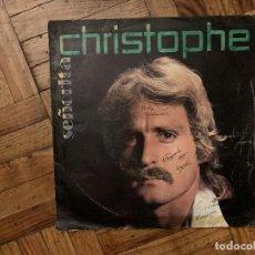 Discos de vinilo: CHRISTOPHE – SEÑORITA SELLO: LES DISQUES MOTORS – MT 4058 FORMATO: VINYL, 7 , 45 RPM, SINGLE . Lote 186163000