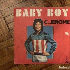 Discos de vinilo: C. JEROME* – BABY BOY SELLO: DISC'AZ – SG 511 SERIE: SÉRIE GÉMEAUX – SG 511 FORMATO: VINYL, 7 . Lote 186163126