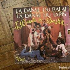 Discos de vinilo: LA BANDE A BASILE – LA DANSE DU BALAIS / LA DANSE DU TAPIS SELLO: VOGUE – 101383 FORMATO: VINYL . Lote 186163266