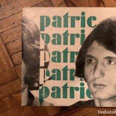 Discos de vinilo: PATRIC (7) – L'ESTACA SELLO: VENTADORN – IEOS 4-13 FORMATO: VINYL, 7 EP PAÍS: FRANCE FECHA: 1972. Lote 186165103