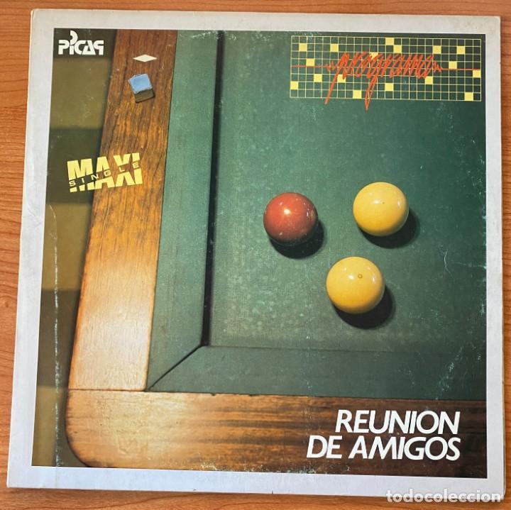 PROGRAMA // REUNIÓN DE AMIGOS // MAXI 12' (Música - Discos de Vinilo - Maxi Singles - Grupos Españoles de los 70 y 80)