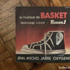 Discos de vinilo: JEAN MICHEL JARRE* – OXYGENE (LA MUSIQUE DE BASKET) SELLO: LES DISQUES MOTORS – 2097 214 . Lote 186166020
