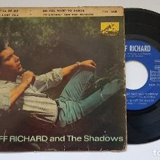 Discos de vinilo: CLIFF RICHARD AND THE SHADOWS - EP - IT,LL BE ME. AÑO 1.962. EDITADO POR LA VOZ DE SU AMO.. Lote 186170146
