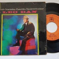 Discos de vinilo: LEO DAN - MANOLI + 3. EP. AÑO 1.964. EDITADO POR CBS. Lote 186172327