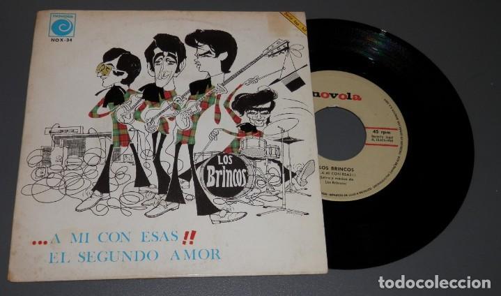 DISCO VINILLO LOS BRINCOS - DEL AÑO 1967 (Música - Discos - Singles Vinilo - Rock & Roll)