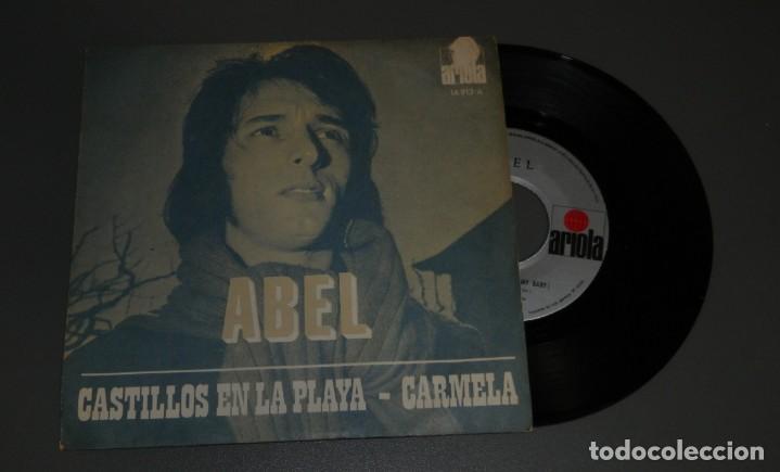 DISCO VINILLO DE ABEL - DEL AÑO 1971 (Música - Discos - Singles Vinilo - Rock & Roll)