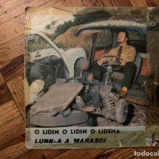 Discos de vinilo: PIERO PARODI – O LIDIN O LIDIN O LIDENA / LUNN-A A MARASCI SELLO: IL FALÒ – AD 805 FORMATO: VINYL. Lote 186179870