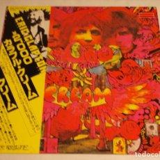 Discos de vinilo: CREAM - DISRAELI GEARS 1978-JAPON LP RSO. Lote 186180640