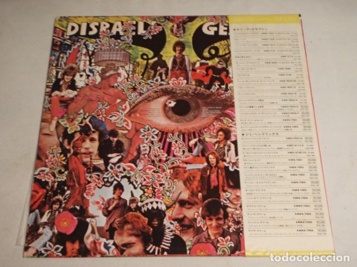 Discos de vinilo: Cream - Disraeli Gears 1978-Japon LP RSO - Foto 2 - 186180640