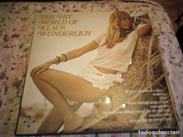 KLAUS WUNDERLICH ?– THE HIT WORLD OF KLAUS WUNDERLICH,ELECTRONIC POP.1975 (Música - Discos - LP Vinilo - Electrónica, Avantgarde y Experimental)