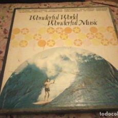 Discos de vinilo: SOIVA MAAILMA - WONDERFUL WORLD WONDERFUL MUSIC,1972 CAJA CON 9 LPS. Lote 186184462