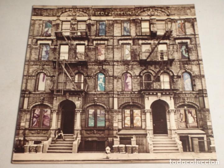 LED ZEPPELIN - PHYSICAL GRAFFITI 1975-JAPON LP SWAN SONG (Música - Discos - LP Vinilo - Pop - Rock - Extranjero de los 70)