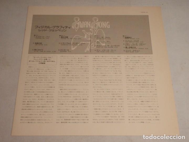 Discos de vinilo: Led Zeppelin - Physical Graffiti 1975-Japon LP Swan Song - Foto 5 - 186185483