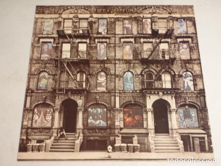Discos de vinilo: Led Zeppelin - Physical Graffiti 1975-Japon LP Swan Song - Foto 9 - 186185483