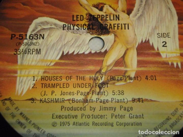 Discos de vinilo: Led Zeppelin - Physical Graffiti 1975-Japon LP Swan Song - Foto 12 - 186185483