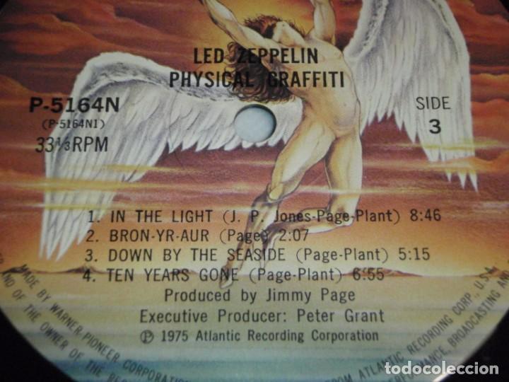 Discos de vinilo: Led Zeppelin - Physical Graffiti 1975-Japon LP Swan Song - Foto 13 - 186185483