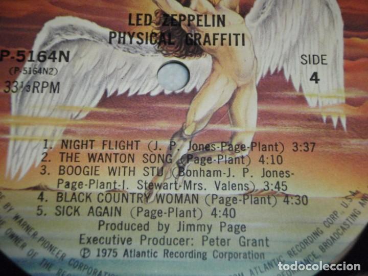 Discos de vinilo: Led Zeppelin - Physical Graffiti 1975-Japon LP Swan Song - Foto 14 - 186185483