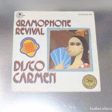 Discos de vinilo: GRAMOPHONE REVIVAL ----DISCO CARMEN / MUSIC, MUSIC, MUSIC -- -( NM OR M- ) --VG++. Lote 186187642