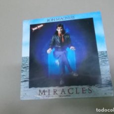 Discos de vinilo: RON MAGNESS (SINGLE) MIRACLES AÑO – 1983 - PROMOCIONAL. Lote 186189367