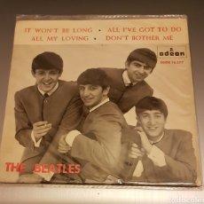 Discos de vinilo: THE BEATLES - IT WON T BE LONG EP SINGLE VINILO. RAREZA. Lote 186189372