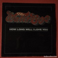 Discos de vinilo: THE WATERBOYS - HOW LONG WILL I LOVE YOU. Lote 186189520