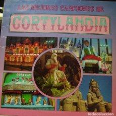 Discos de vinilo: CORTYLANDIA - LAS MEJORES CANCIONES DE CORTYLANDIA LP 1988 SPAIN. Lote 186190645