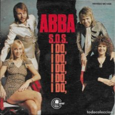 Discos de vinilo: ABBA S.O.S. I DO CARNABY 1975 RARO Y ESCASO SINGLE. Lote 186198456