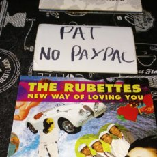 Disques de vinyle: THE RUBETTES NEW WAY OF LOVING YOU. Lote 186202698