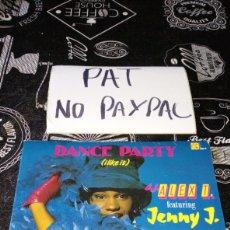 Discos de vinilo: DANCE PARTY I LIKE IT DJ ALEX T JENNY J. Lote 186202811