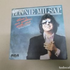 Discos de vinilo: RONNIE MILSAP (SINGLE) THERE'S NO GETTIN' OVER ME AÑO – 1981 - PROMOCIONAL. Lote 186208441