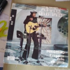 Discos de vinilo: ADRIANO CELENTANO - PREGHERO. Lote 186210136