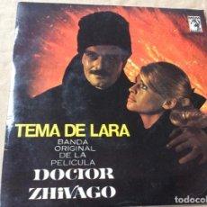 Discos de vinilo: MAURICE JARRE. TEMA DE LARA: BANDA ORIGINAL DE LA PELICULA DOCTOR ZHIVAGO... Lote 186212141