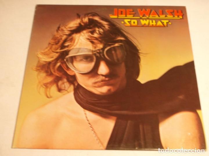 JOE WALSH – SO WHAT 1974-USA LP ABC RECORDS (Música - Discos - LP Vinilo - Pop - Rock - Extranjero de los 70)