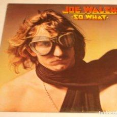 Discos de vinilo: JOE WALSH – SO WHAT 1974-USA LP ABC RECORDS. Lote 186213945