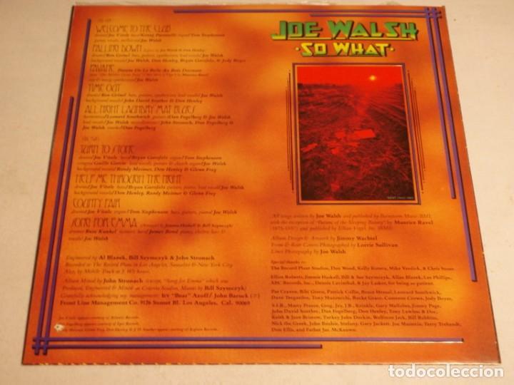 Discos de vinilo: Joe Walsh – So What 1974-USA LP ABC Records - Foto 4 - 186213945