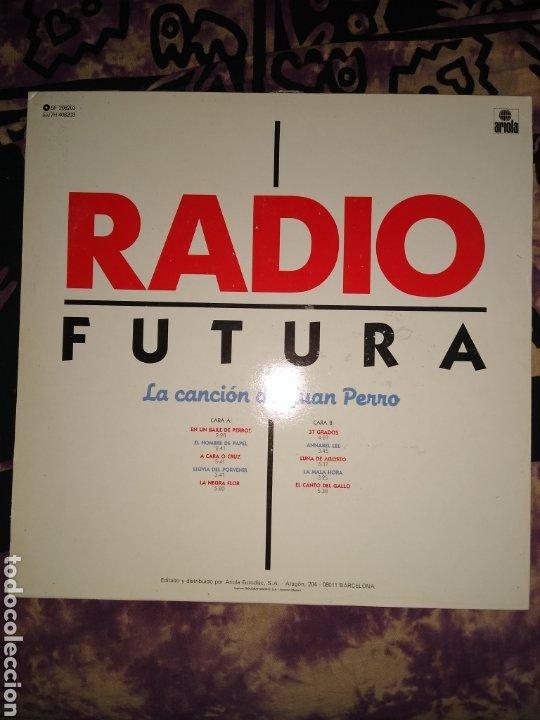 Discos de vinilo: Radio futura LP.buen estado. - Foto 4 - 186215137