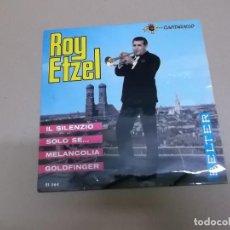 Discos de vinilo: ROY ETZEL (EP) IL SILENZIO AÑO – 1965. Lote 186216583