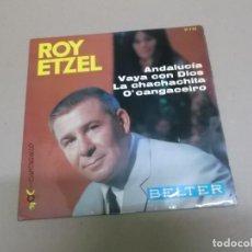 Discos de vinilo: ROY ETZEL (EP) ANDALUCIA AÑO – 1966. Lote 186216668