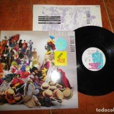 Discos de vinilo: ELTON JOHN REG STRIKES BACK LP VINILO GATEFOLD DEL AÑO 1988 UK CON ENCARTE BERNIE TAUPIN 10 TEMAS. Lote 186216980