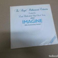 Discos de vinilo: THE ROYAL PHILHARMONIC ORCHESTRA (SINGLE) IMAGINE AÑO – 1983 - PROMOCIONAL. Lote 186217078